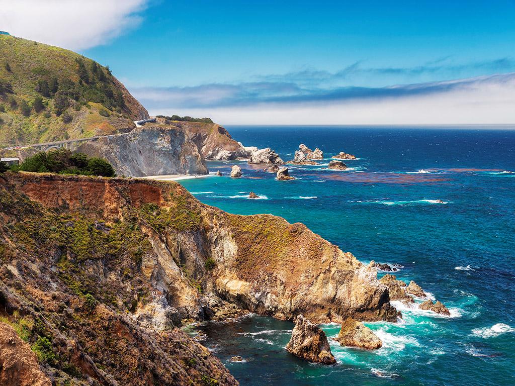 【不一样的美西 大城小镇海岸风景版】美国西海岸品质四城(旧金山两晚+1号公路+17英里+环球影