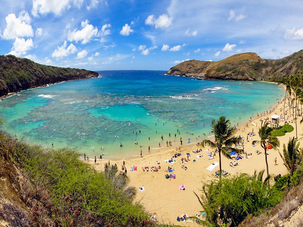 邂逅彩虹的故鄉 夏威夷蔚藍海島半自助游