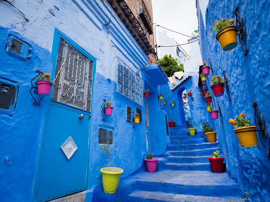 【摩洛哥+西葡+安道尔16日】 安道尔 北非花园 菲斯古城 舍夫沙万 高迪建筑 特色美食