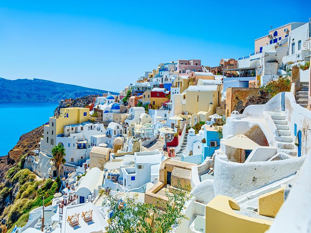 希腊+一价全含西葡15日 1晚五星 悬崖酒店 圣托里尼 两段加飞 马德里皇宫 特色美食